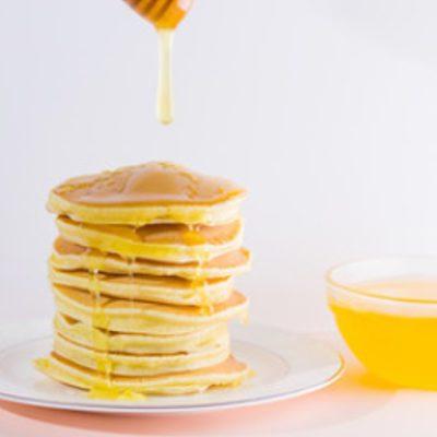 pancacke honey