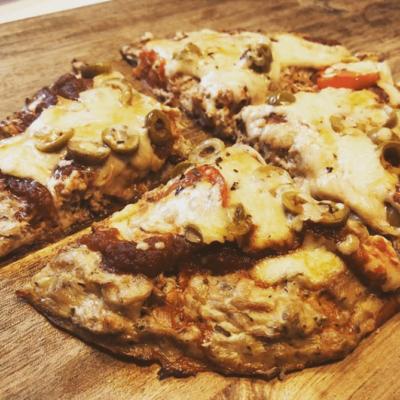 פיצה מבצק טונה (1)